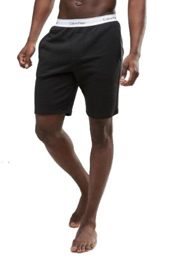 Calvin Klein šortky Modern Cotton Short čierna