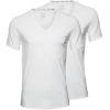 Calvin Klein pánske tričko ID 2pack S/S V-neck 2x biele