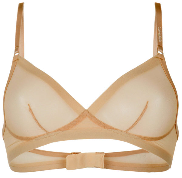 Calvin Klein podprsenka Sculpted Triangle Unlined Bare