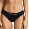 Calvin Klein tanga Body Thong čierne