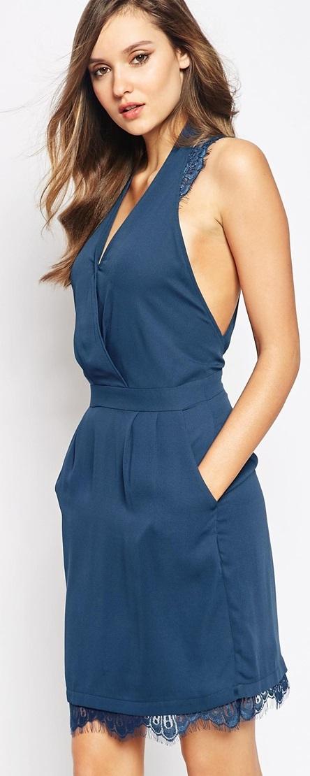 Y.A.S šaty Insigma Lace Dress