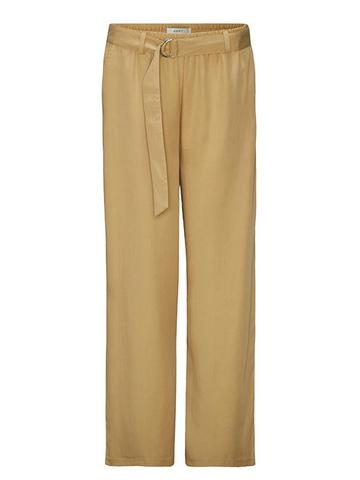 A D P T. dámske nohavice Grand Lounge Pant Caramel