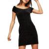 Only dámske šaty Dia Glitter Dress čierna