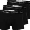 Calvin Klein boxerky 3pack U2664G XWB čierne