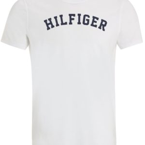 Tommy Hilfiger pánske tričko Cotton Icon SS Tee Logo biele 39fd42f9ec7