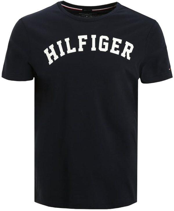 Tommy Hilfiger pánske tričko Cotton Icon SS Tee Logo navy