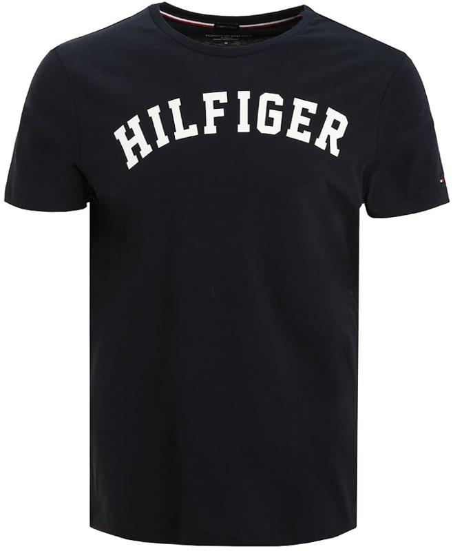 4516eb94d818 Tommy Hilfiger pánske tričko Cotton Icon SS Tee Logo navy