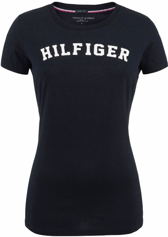 732d2a4d9 Tommy Hilfiger dámske tričko Cotton Icon SS Tee Print Logo modré