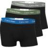Calvin Klein pánske boxerky 3pack U2664G KKK tricolor