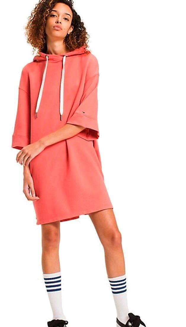 d872a551c0ed Mikinové šaty Tommy Hilfiger Garment Dye Dress