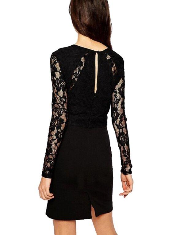 Y.A.S Lava šaty dámske Dress čierne 01
