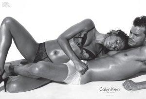 Calvin Klein boxerky spodné prádlo-Jamie Dornan Eva Mendes