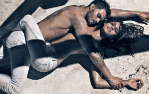 Calvin Klein Jamie Dornan Eva Mendes spodné prádlo