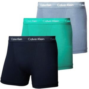 Calvin Klein 3 Pack boxerky Cotton Stretch Trunks PYY
