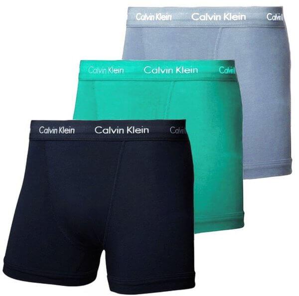 Calvin Klein 3 Pack boxerky Cotton Stretch Trunks PYY