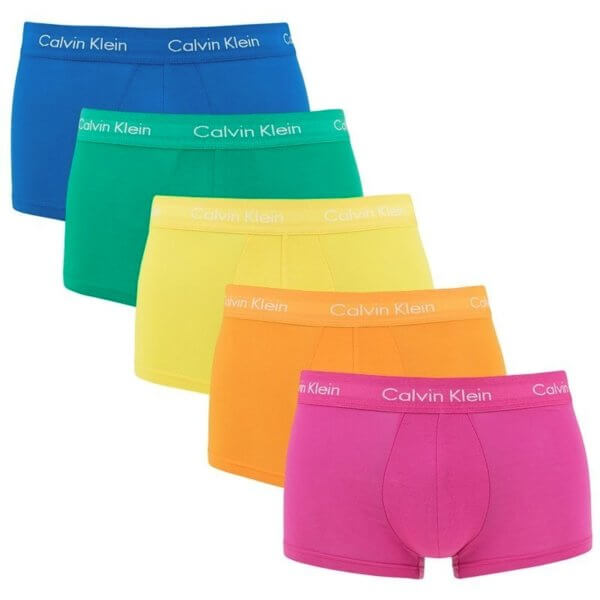 Boxerky Calvin Klein 5 Pack Low Rise Trunk set spodného prádla