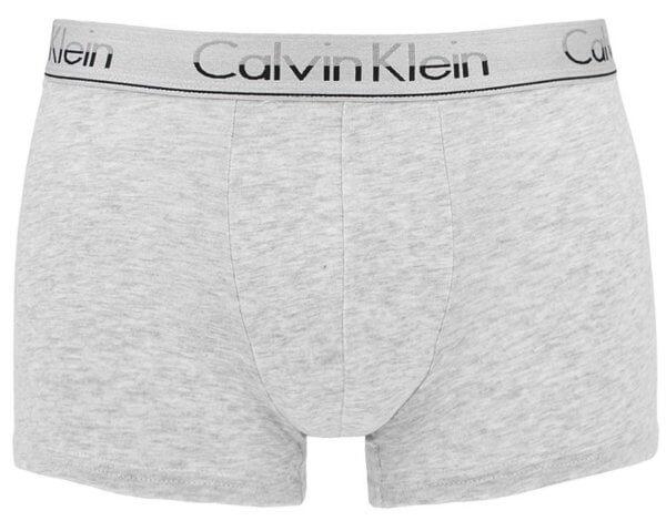 Boxerky Calvin Klein 3 Pack NB1452A JCP šedé bavlna