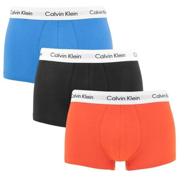 Calvin Klein boxerky 3 Pack U2664G KXD