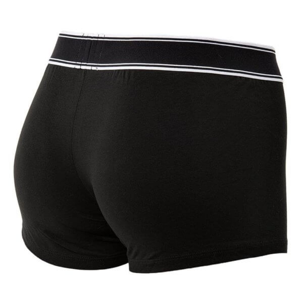 Boxerky Diesel čierne detail foto spodné prádlo