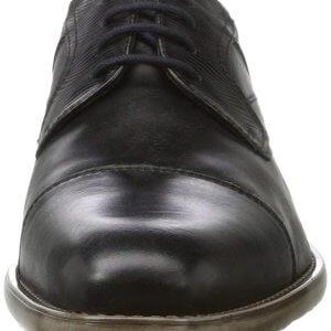 Pánske kožené topánky Bugatti Lavinio čierne
