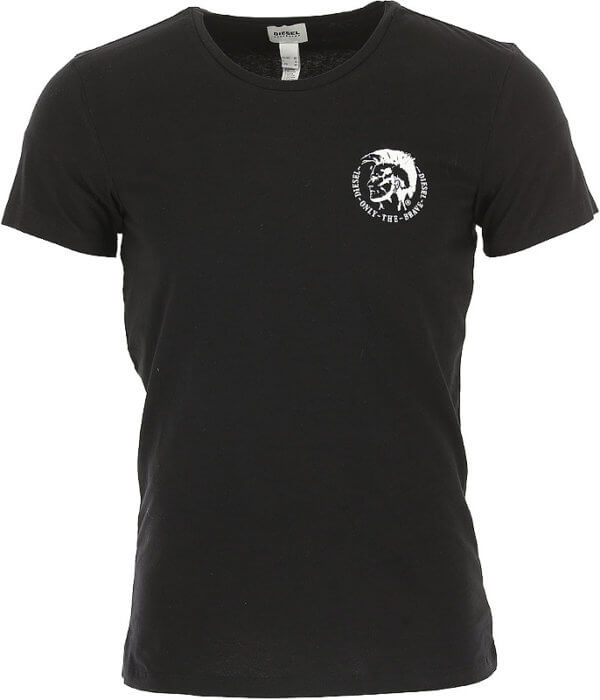 Pánske tričko Diesel Umtee Randal Threepack Maglietta čierne