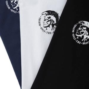 Pánske tričká Diesel Umtee Randal 3 pack tricolor detail