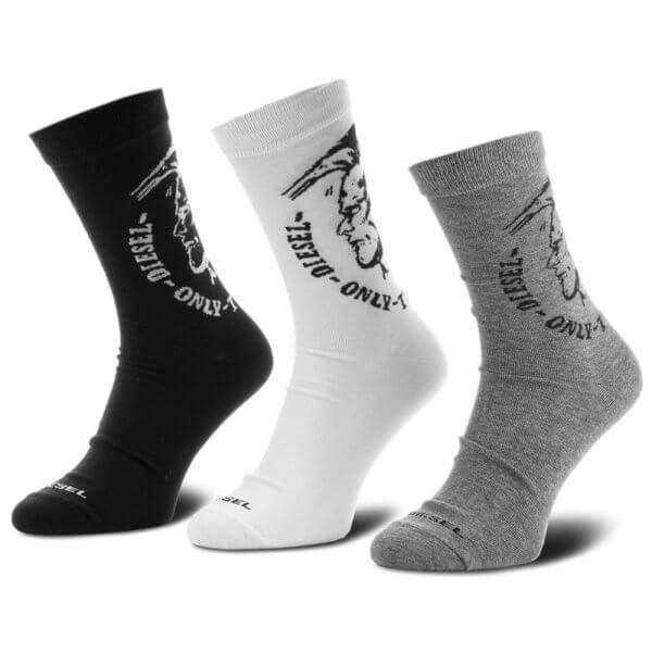 Ponožky Diesel 3 Pack Sock Ray tricolor