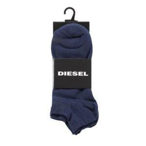 Ponožky Diesel 3 Pack Sock tmavé modré detail foto