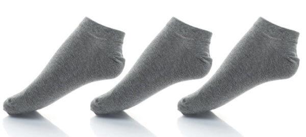Ponožky Diesel 3 Pack šedé