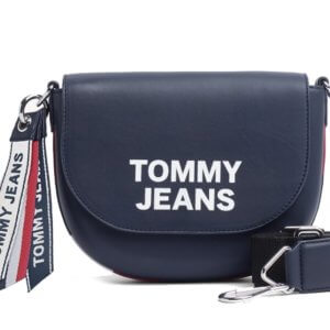 Kabelka Tommy Hilfiger Tommy Jeans Leather Crossover Bag