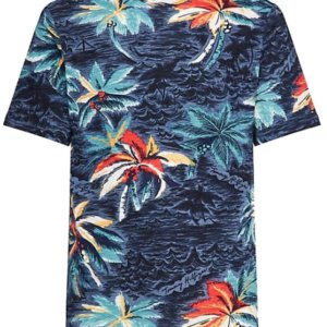 Tričko Tommy Hilfiger Palm All Over Print Tee 462.04