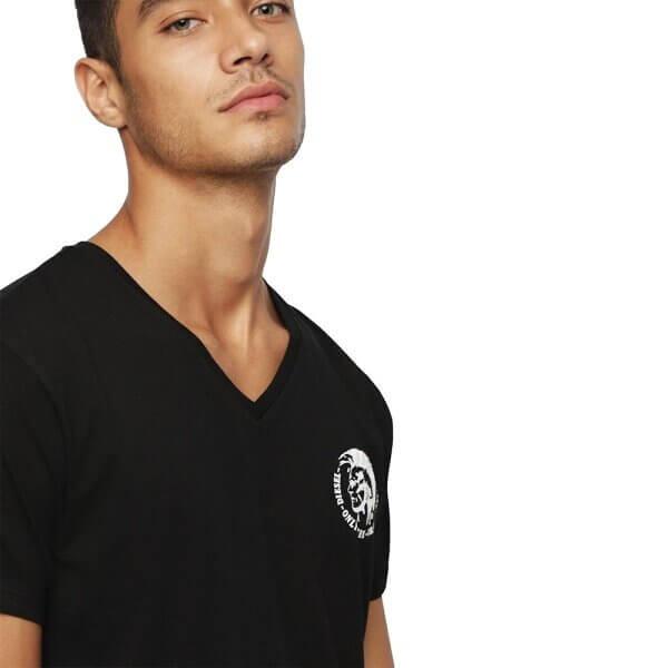 Tričká Diesel Umtee Michael 3 Pack T-Shirt 01 čierne 1