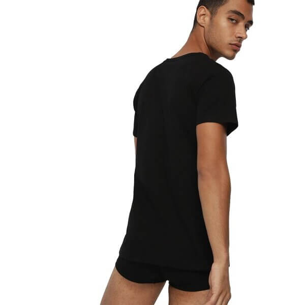 Tričká Diesel Umtee Michael 3 Pack T-Shirt 01 čierne 3