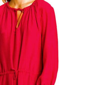 Šaty Tommy Hilfiger Haren Dress červené 692