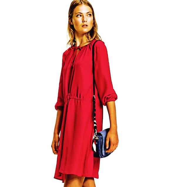 Šaty Tommy Hilfiger Haren Dress červené 5