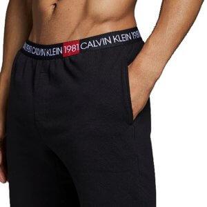 Šortky Calvin Klein 1981 Bold Lounge Short čierne 01