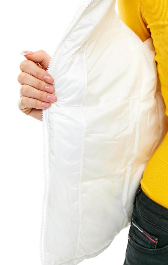 Dámska vesta Tommy Hilfiger Jeans biela 5