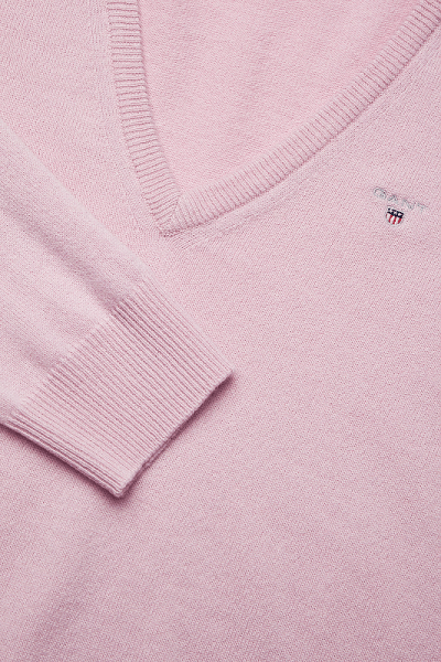 Dámsky pulóver Gant Superfine Lambswool Pink California 1