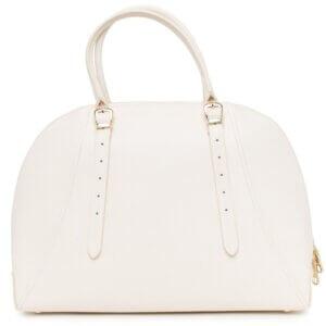 Dámska kožená kabelka Guess Luxe ivory 2