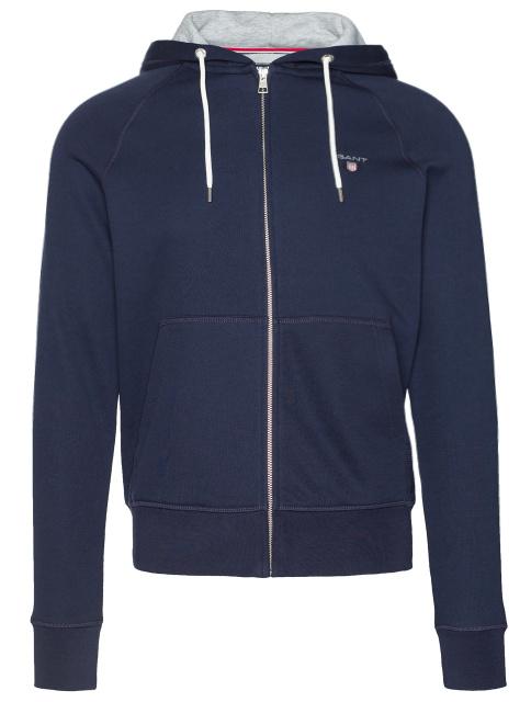 Mikina Gant Original Full Zip Sweat Hoodie modrá