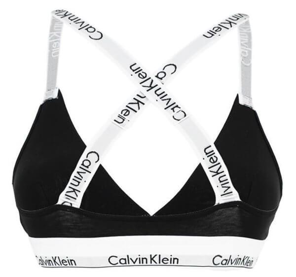 Podprsenka Calvin Klein Logo Strap Triangle 001.02