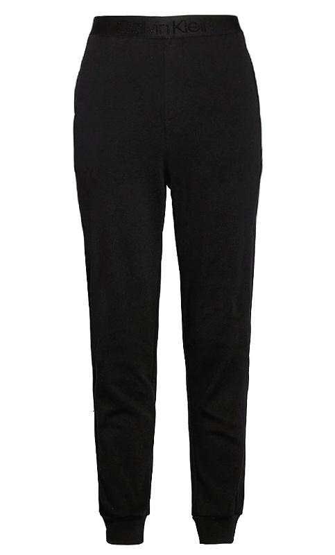 Tepláky Calvin Klein Tonal Logo Jogger čierne 001