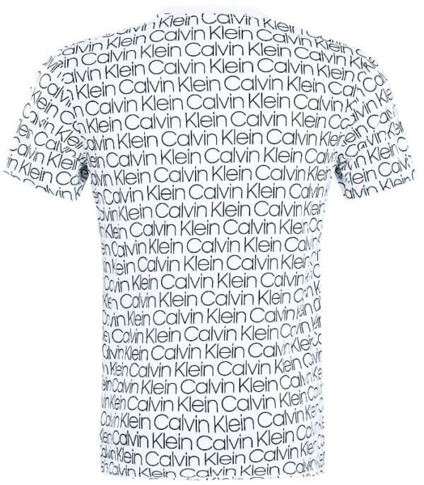 Tričko Calvin Klein Compact Flex biele 01