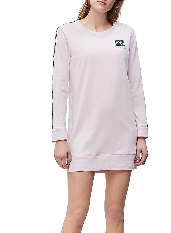 Tričko Calvin Klein Night Shirt 1981 Bold Pink Sky