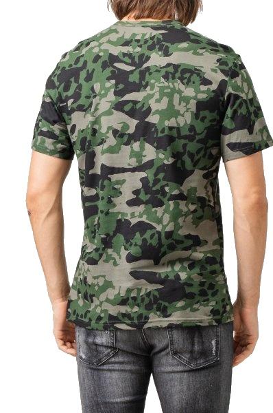 Tričko Calvin Klein SS Animal Camouflage 1PO khaki 02