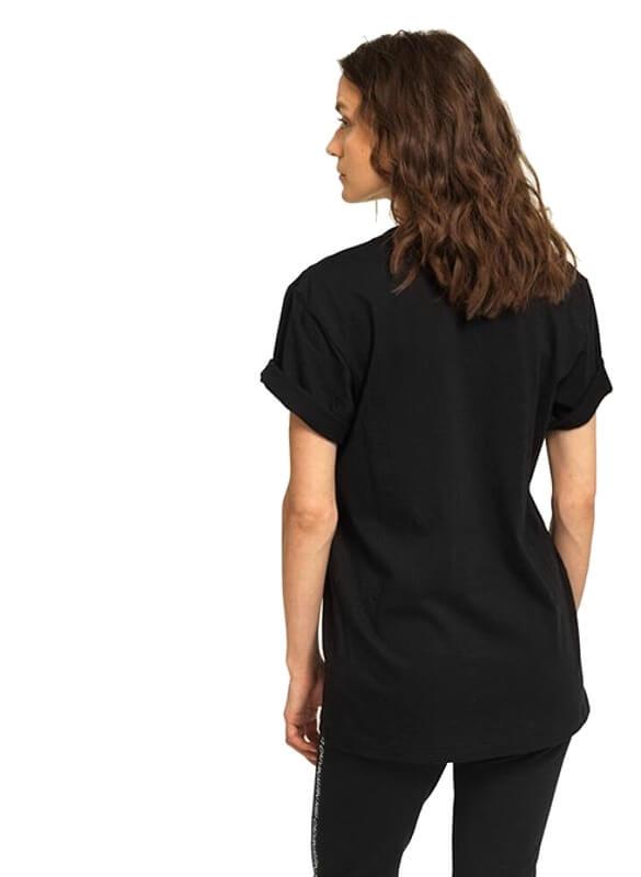 Tričko Calvin Klein SS Crew Neck 1981 Bold čierne.02