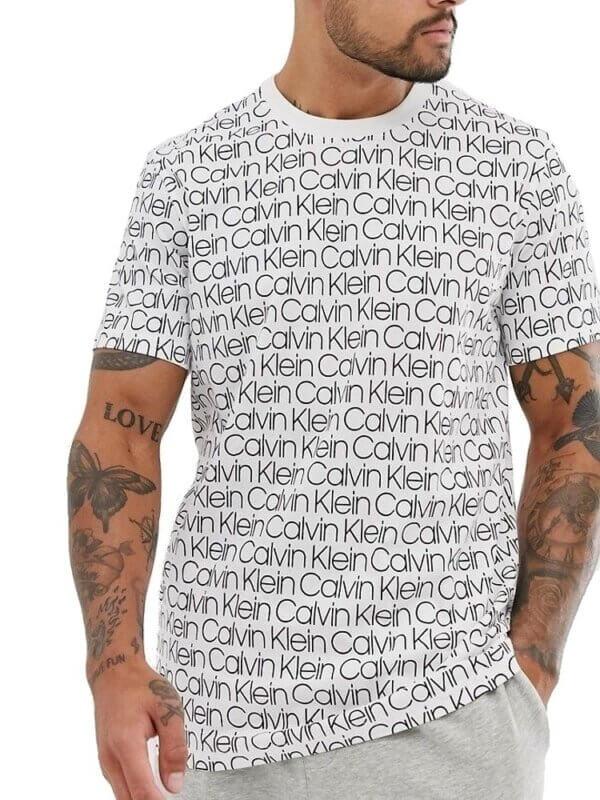Calvin Klein tričko pánske Compact Flex biele