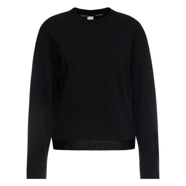 Mikina Calvin Klein Tonal Logo Sweatshirt čierna QS6336E 001