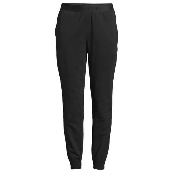 Tepláky Calvin Klein Tonal Logo Jogger čierne QS6305E 001