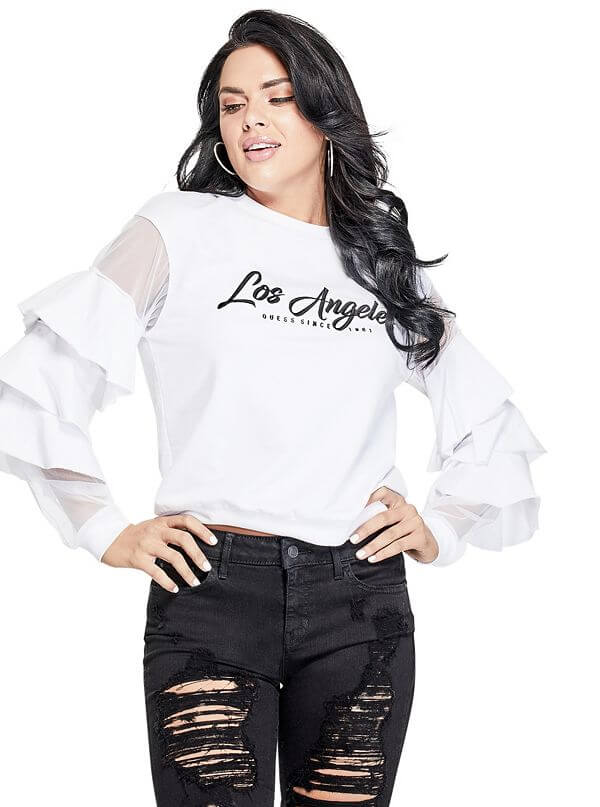 Dámska extravagantná mikina Guess Los Angeles